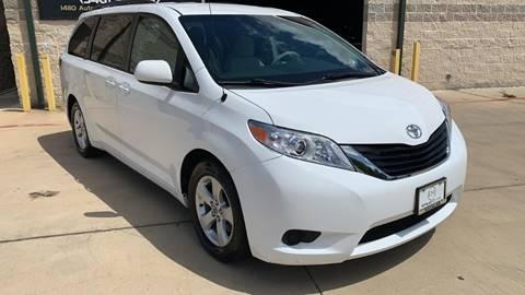2012 Toyota Sienna for sale at KAYALAR MOTORS Garage in Houston TX