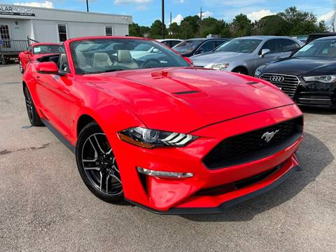 2018 Ford Mustang for sale at KAYALAR MOTORS in Houston TX