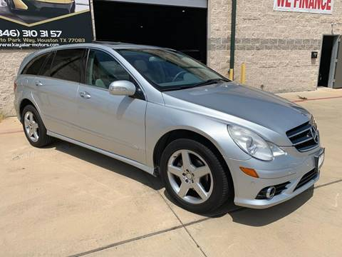 2010 Mercedes-Benz R-Class for sale at KAYALAR MOTORS Garage in Houston TX