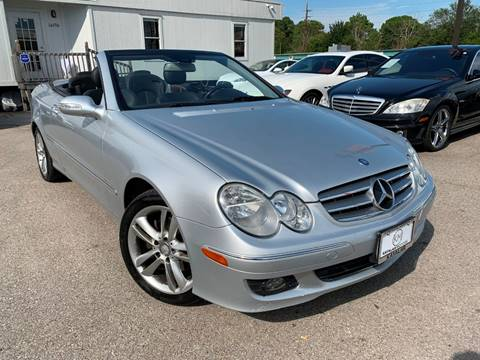 2008 Mercedes-Benz CLK for sale at KAYALAR MOTORS in Houston TX