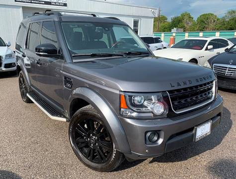 2015 Land Rover LR4 for sale at KAYALAR MOTORS in Houston TX