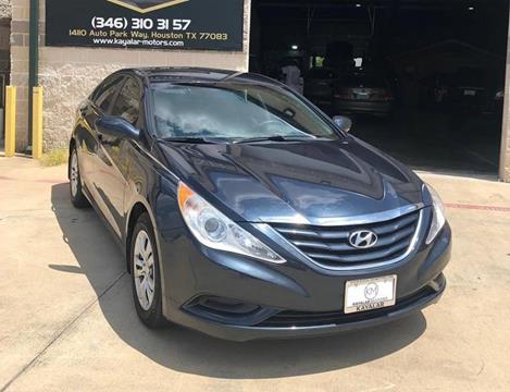 2013 Hyundai Sonata for sale at KAYALAR MOTORS Garage in Houston TX