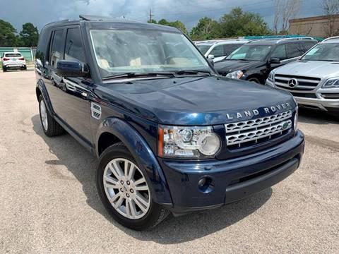 2011 Land Rover LR4 for sale at KAYALAR MOTORS in Houston TX