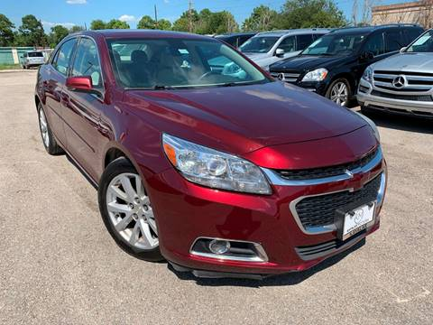 2015 Chevrolet Malibu for sale at KAYALAR MOTORS Garage in Houston TX