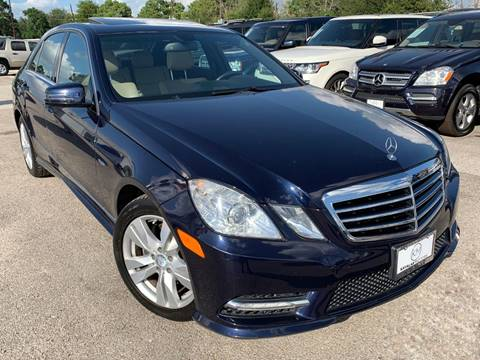 2012 Mercedes-Benz E-Class for sale at KAYALAR MOTORS in Houston TX
