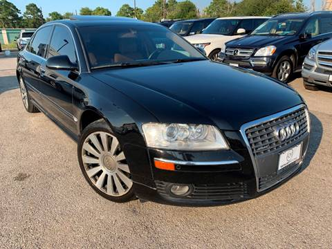2007 Audi A8 L for sale at KAYALAR MOTORS in Houston TX