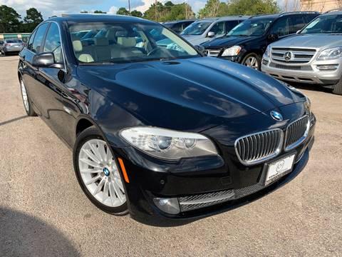 2013 BMW 5 Series for sale at KAYALAR MOTORS Garage in Houston TX