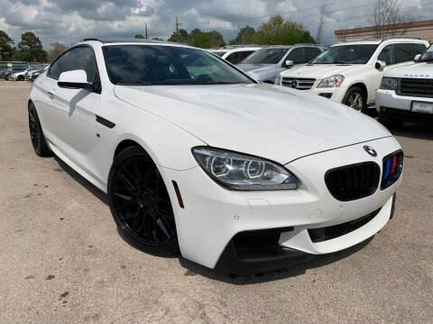 2014 BMW 6 Series for sale at KAYALAR MOTORS in Houston TX