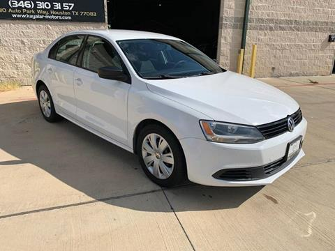 2012 Volkswagen Jetta for sale at KAYALAR MOTORS - ECUFAST HOUSTON in Houston TX