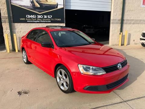 2012 Volkswagen Jetta for sale at KAYALAR MOTORS Garage in Houston TX