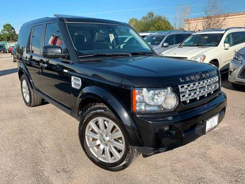2013 Land Rover LR4 for sale at KAYALAR MOTORS in Houston TX
