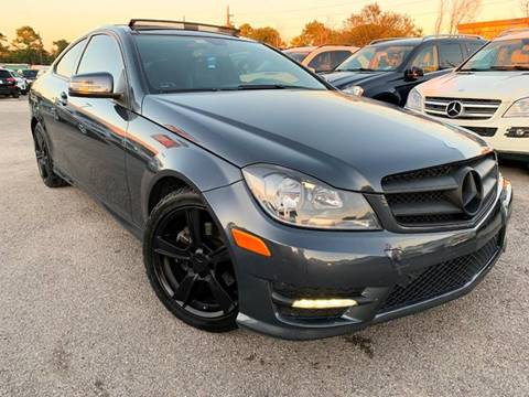 2013 Mercedes-Benz C-Class for sale in Houston, TX