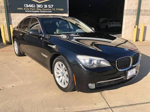 2011 BMW 7 Series for sale at KAYALAR MOTORS in Houston TX