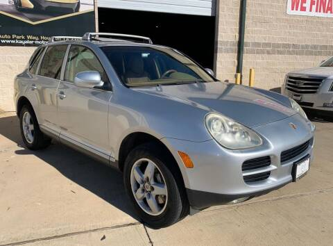2004 Porsche Cayenne for sale at KAYALAR MOTORS Garage in Houston TX