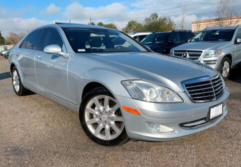 2007 Mercedes-Benz S-Class for sale at KAYALAR MOTORS in Houston TX