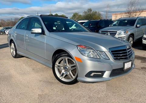 2011 Mercedes-Benz E-Class for sale at KAYALAR MOTORS in Houston TX