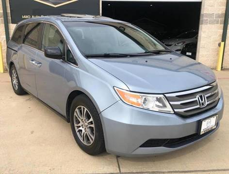2011 Honda Odyssey for sale at KAYALAR MOTORS Garage in Houston TX