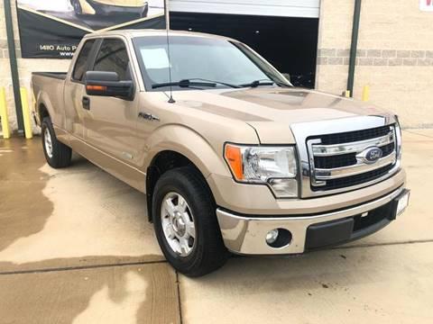 2014 Ford F-150 for sale at KAYALAR MOTORS Garage in Houston TX