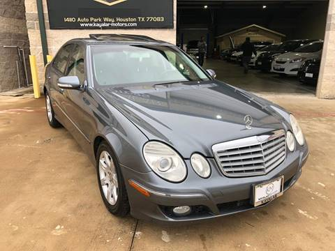 2008 Mercedes-Benz E-Class for sale at KAYALAR MOTORS Garage in Houston TX