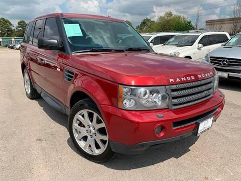 2009 Land Rover Range Rover Sport for sale at KAYALAR MOTORS in Houston TX