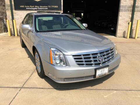 2011 Cadillac DTS for sale at KAYALAR MOTORS Garage in Houston TX