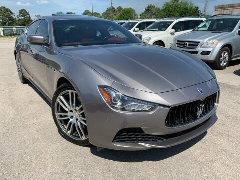 2014 Maserati Ghibli for sale at KAYALAR MOTORS in Houston TX