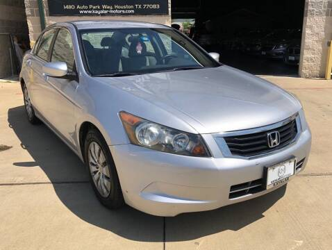 2010 Honda Accord for sale at KAYALAR MOTORS Garage in Houston TX