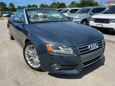 2010 Audi A5 for sale at KAYALAR MOTORS in Houston TX