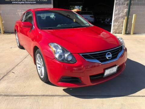 2012 Nissan Altima for sale at KAYALAR MOTORS Garage in Houston TX