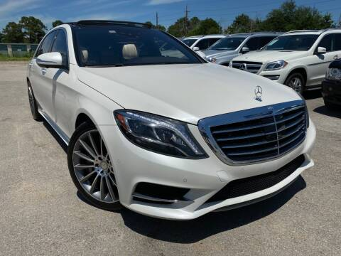 2015 Mercedes-Benz S-Class for sale at KAYALAR MOTORS in Houston TX