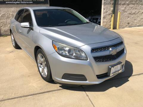 2013 Chevrolet Malibu for sale at KAYALAR MOTORS Garage in Houston TX