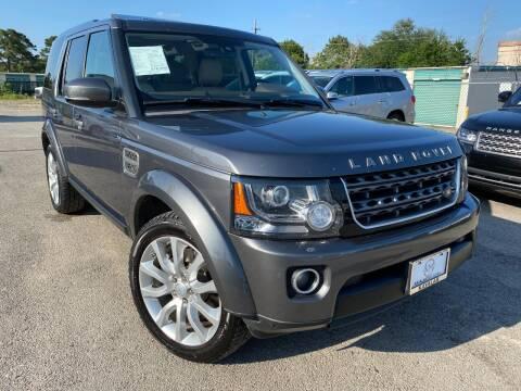 2014 Land Rover LR4 for sale at KAYALAR MOTORS in Houston TX