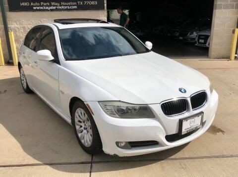 2009 BMW 3 Series for sale at KAYALAR MOTORS Garage in Houston TX