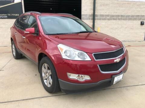 2012 Chevrolet Traverse for sale at KAYALAR MOTORS Garage in Houston TX