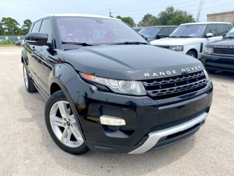 2012 Land Rover Range Rover Evoque for sale at KAYALAR MOTORS in Houston TX