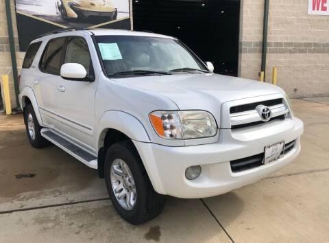 2006 Toyota Sequoia for sale at KAYALAR MOTORS Garage in Houston TX