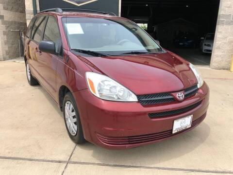 2005 Toyota Sienna for sale at KAYALAR MOTORS Garage in Houston TX