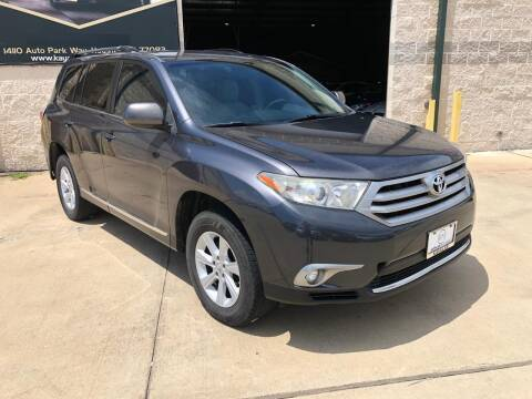 2013 Toyota Highlander for sale at KAYALAR MOTORS Garage in Houston TX