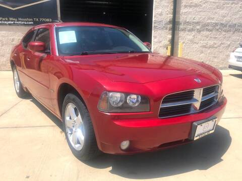 2010 Dodge Charger for sale at KAYALAR MOTORS Garage in Houston TX