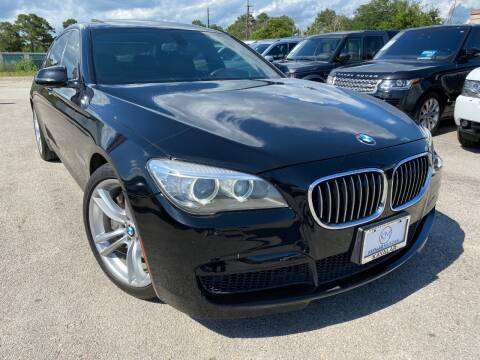 2014 BMW 7 Series for sale at KAYALAR MOTORS in Houston TX