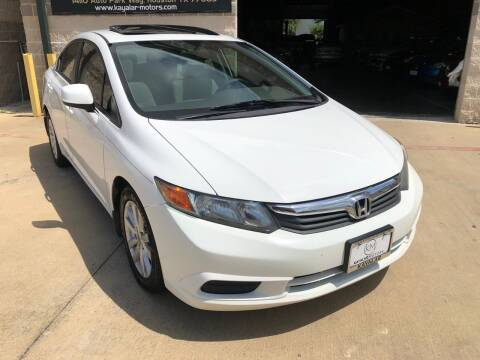 2012 Honda Civic for sale at KAYALAR MOTORS Garage in Houston TX