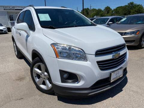 2016 Chevrolet Trax for sale at KAYALAR MOTORS in Houston TX