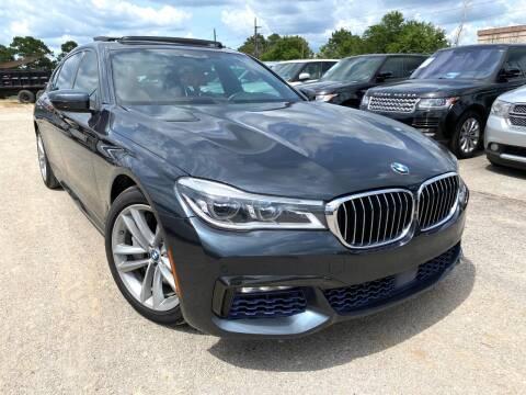 2017 BMW 7 Series for sale at KAYALAR MOTORS in Houston TX