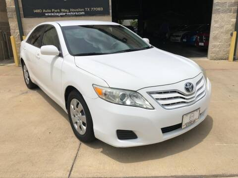 2011 Toyota Camry for sale at KAYALAR MOTORS Garage in Houston TX