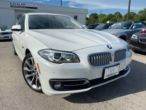2014 BMW 5 Series for sale at KAYALAR MOTORS in Houston TX