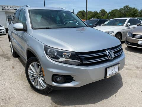 2014 Volkswagen Tiguan for sale at KAYALAR MOTORS in Houston TX