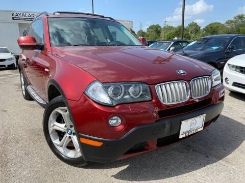 2010 BMW X3 for sale at KAYALAR MOTORS in Houston TX