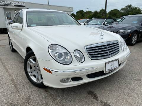 2003 Mercedes-Benz E-Class for sale at KAYALAR MOTORS in Houston TX