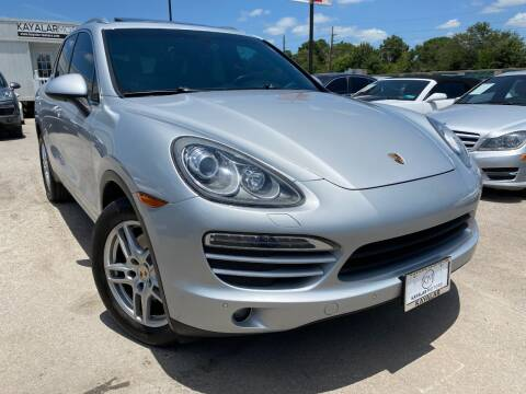 2012 Porsche Cayenne for sale at KAYALAR MOTORS in Houston TX