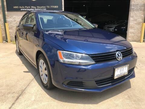 2013 Volkswagen Jetta for sale at KAYALAR MOTORS Garage in Houston TX